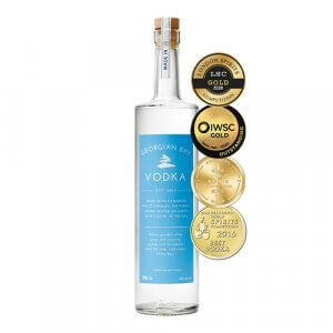 Georgian Bay Vodka is one of Georgian Bay Spirit Co's most awarded products