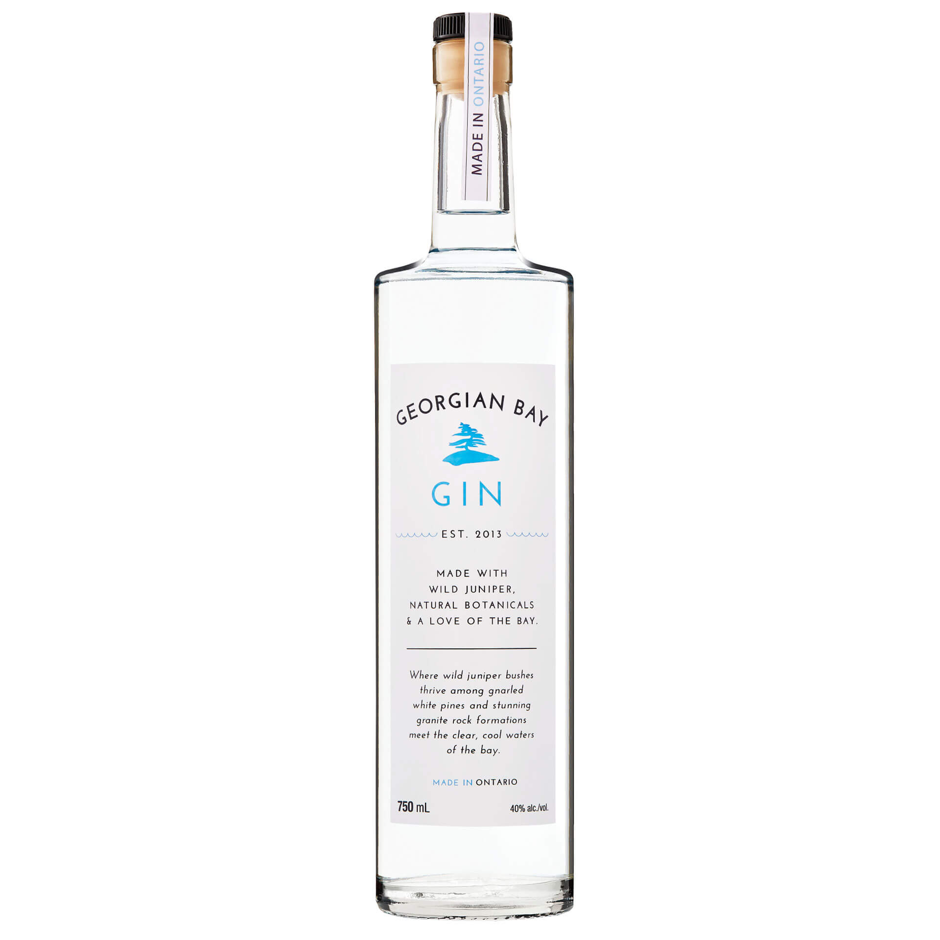 Georgian Bay Spirit Co. - Georgian Bay Award Winning Gin