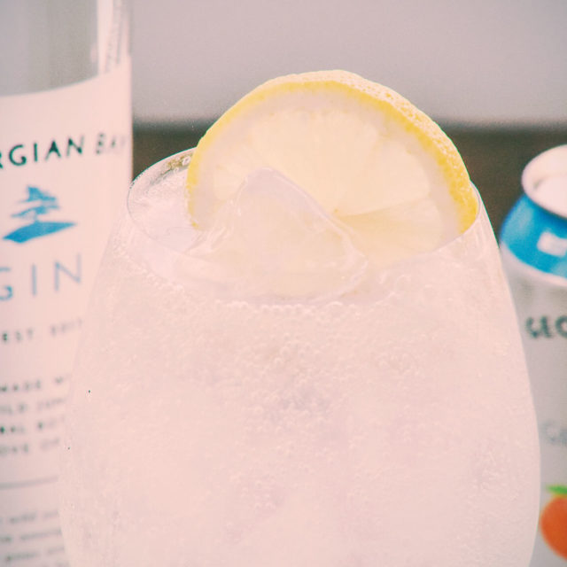 The Gin Gin Smash combines two of our original products. Georgian Bay Gin Smash and Gin