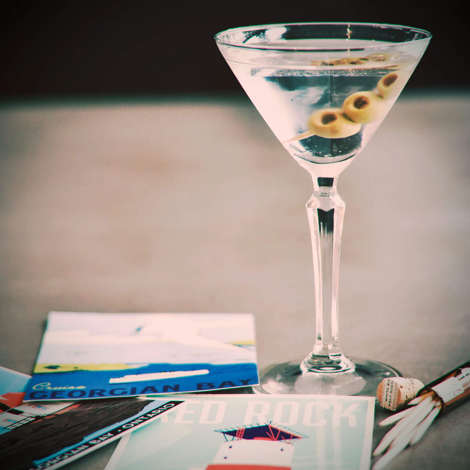 Our Martini Harbour is one of the best recipes to enjoy and taste Georgian Bay Gin