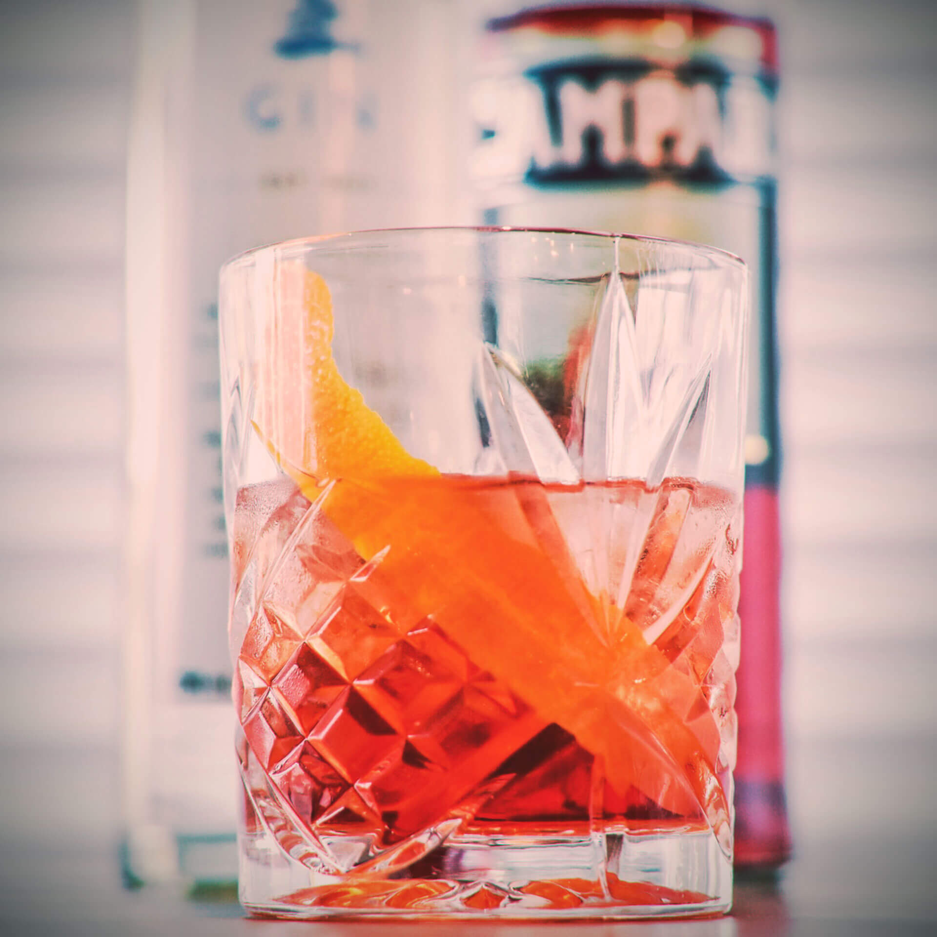 Gin Recipe - Negroni Bay