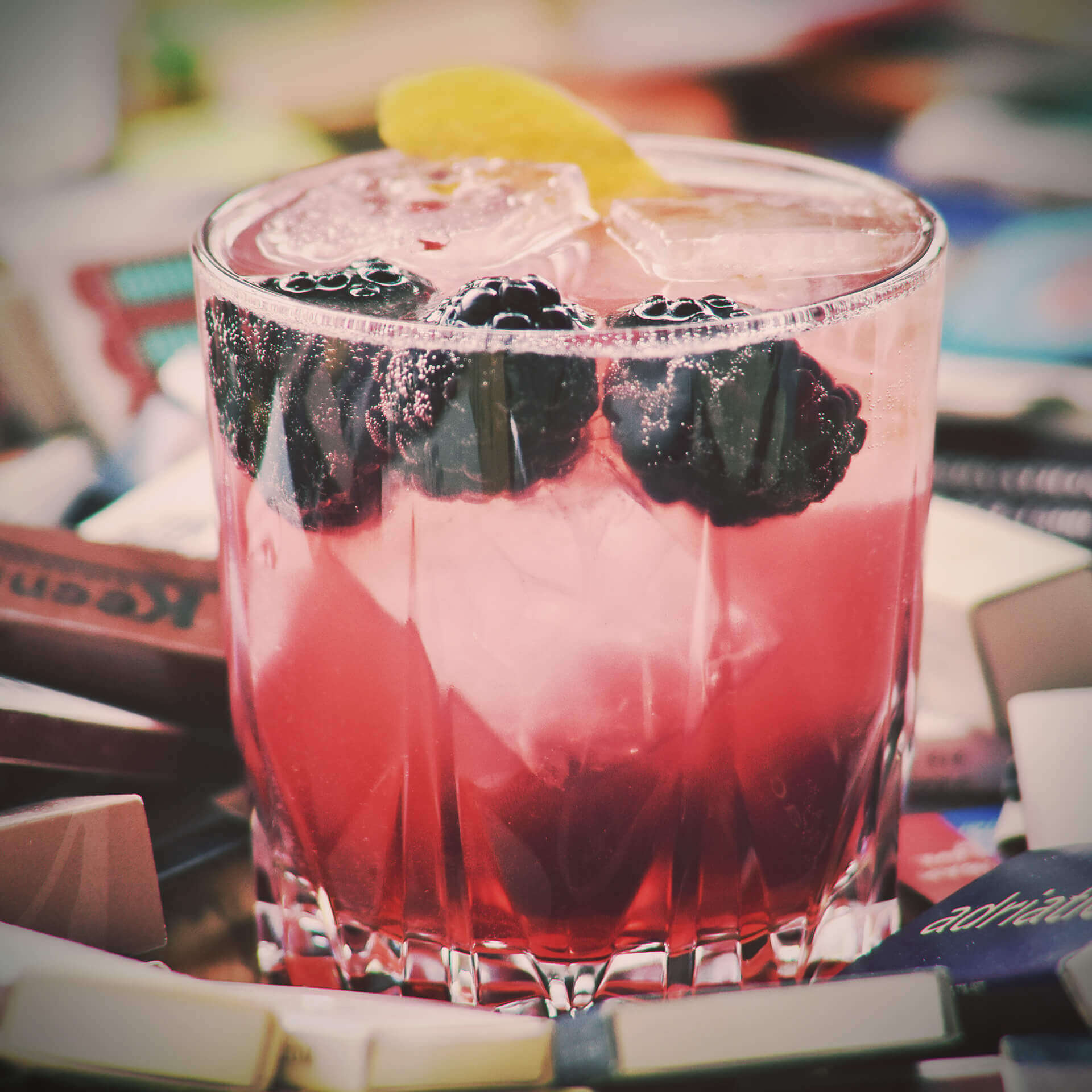 Gin Recipe - Bayfield Bramble