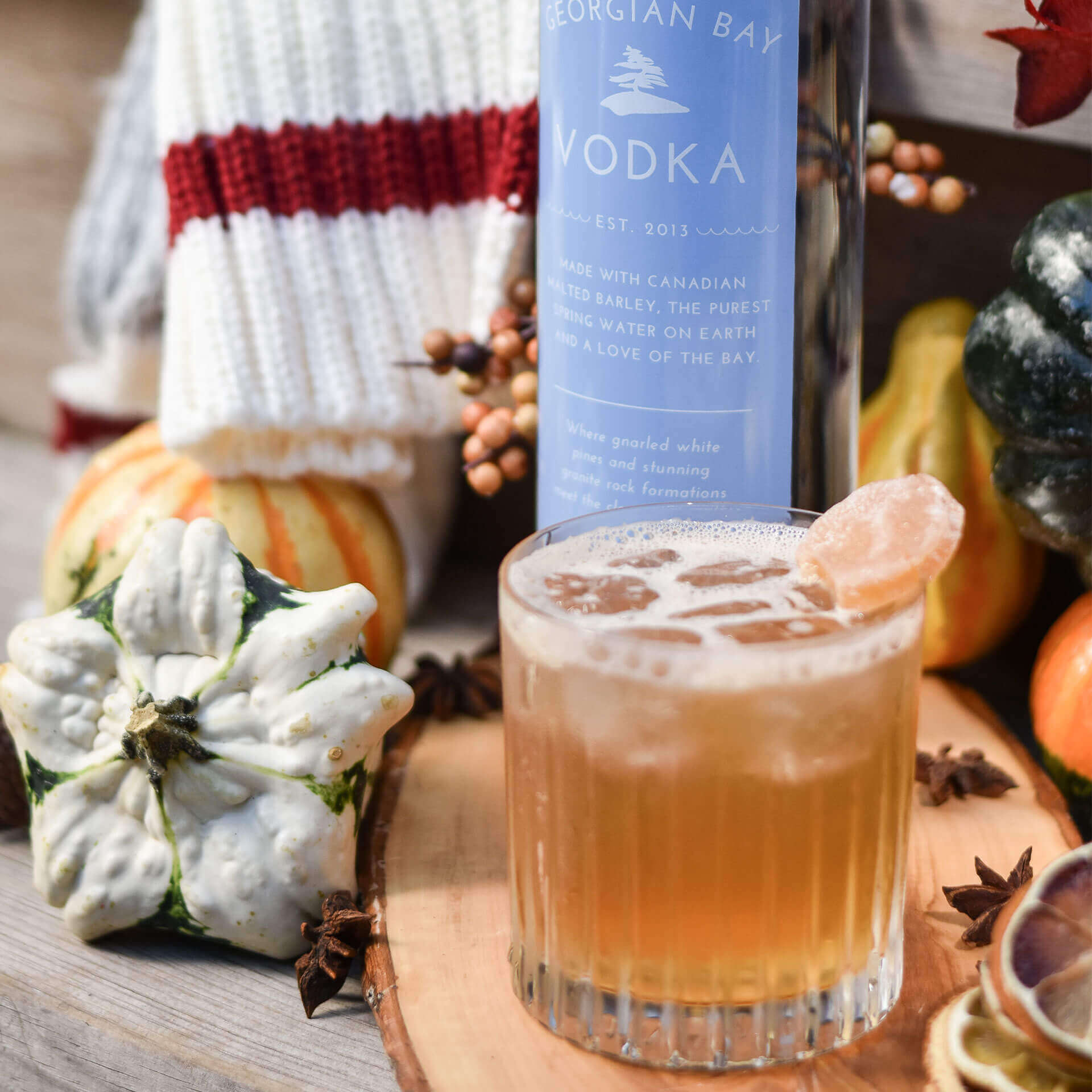 Vodka Recipe - Autumn Knits