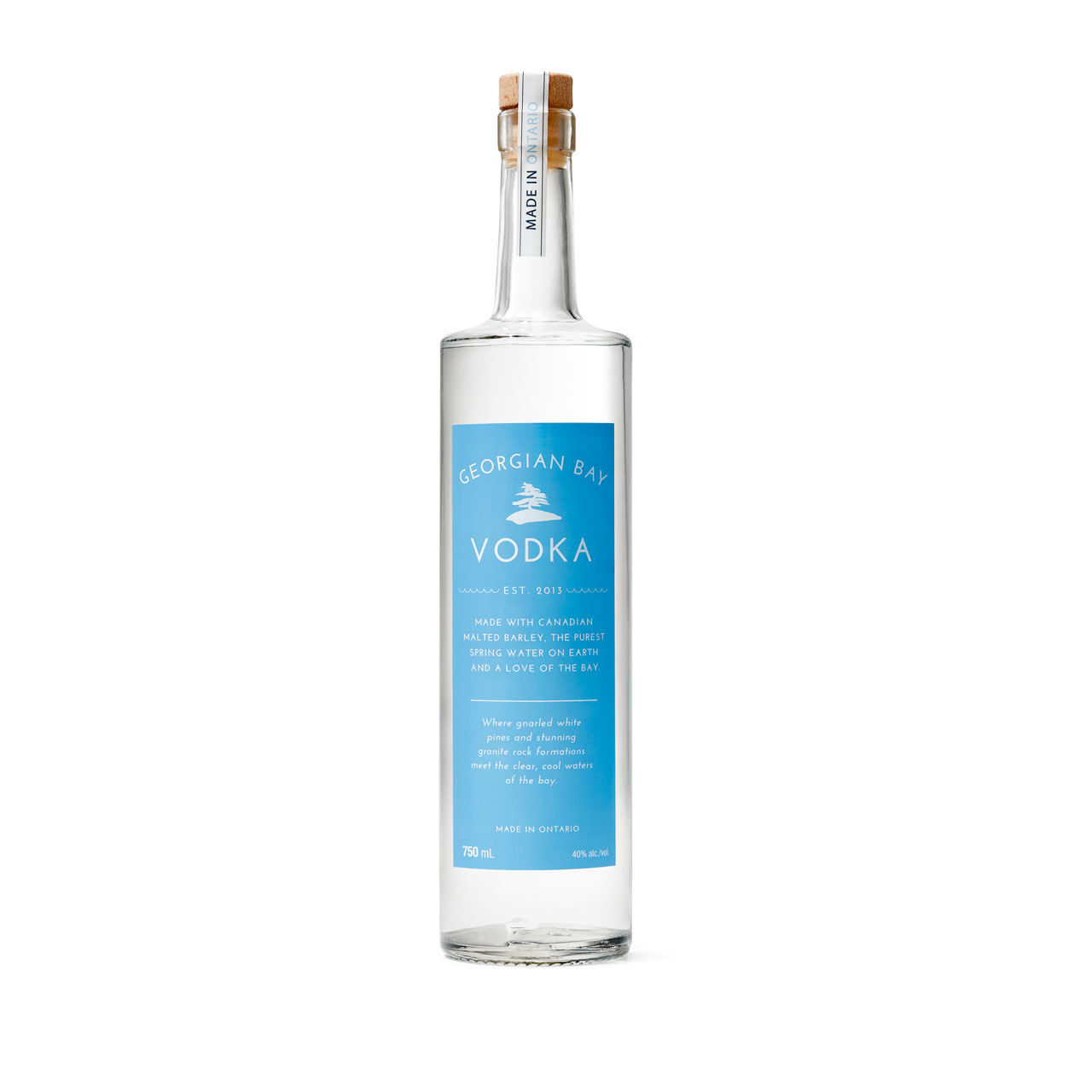 Georgian Bay Vodka - the best Vodka in the world