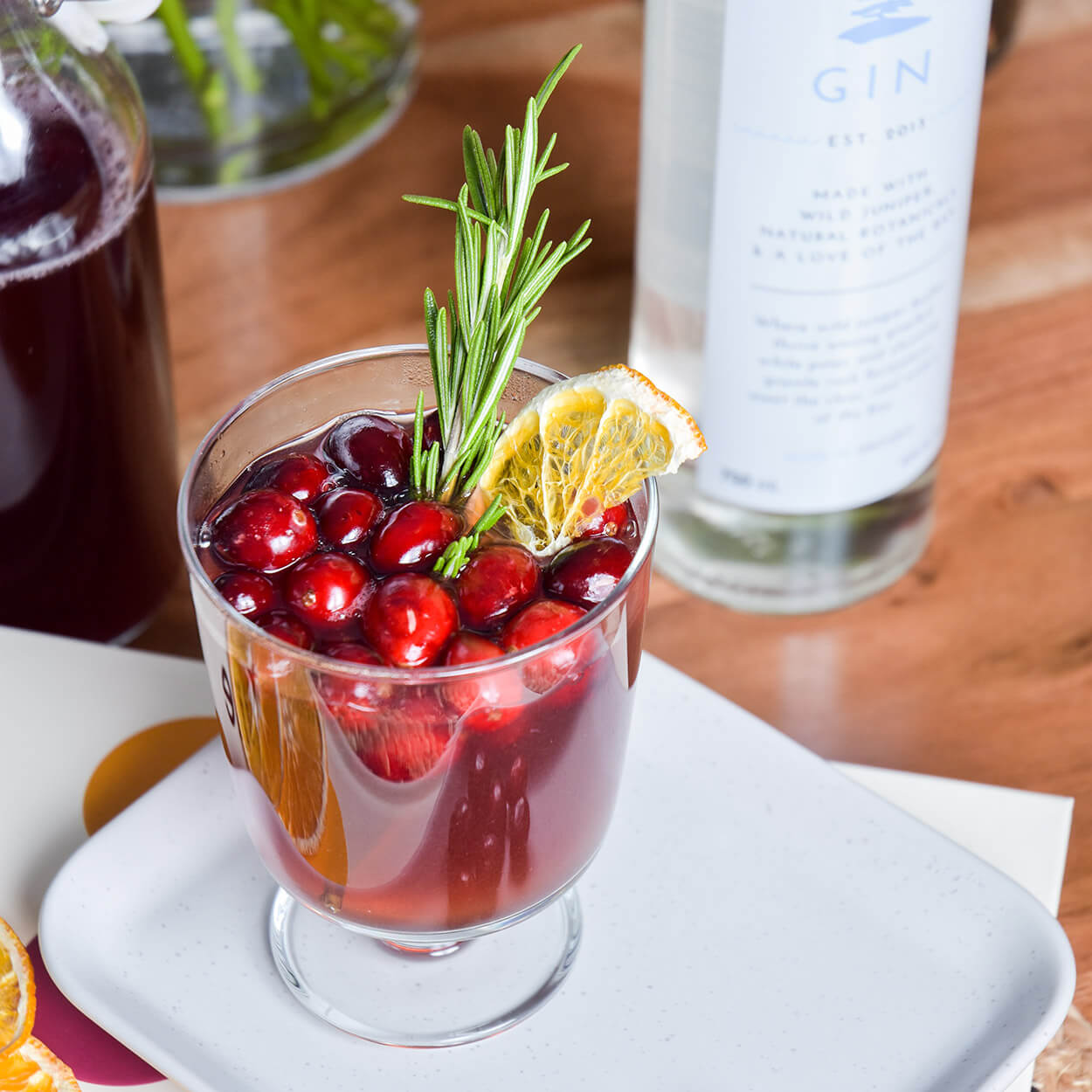 Georgian Bay Gin Cocktail - Mulled Bay