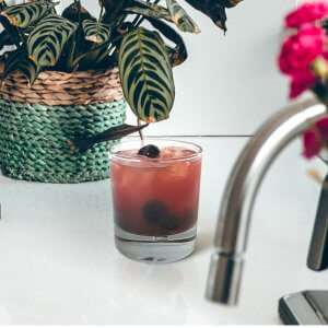 Georgian Bay Gin Cocktail made in collaboration with Collingwood Kombucha